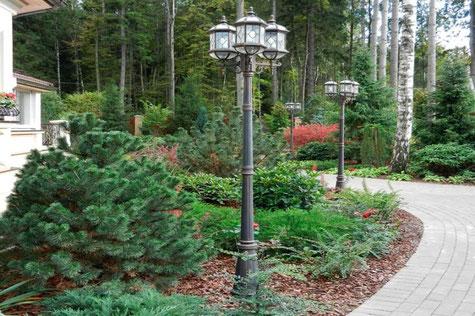 Опоры освещения парков: виды и преимущества