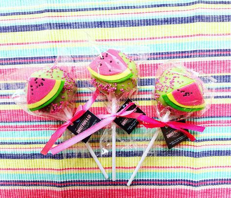 Sweet Pops_Partenaire de La mariée en fleur_Cake Pops_Mariage original sur mesure_été_pastèque
