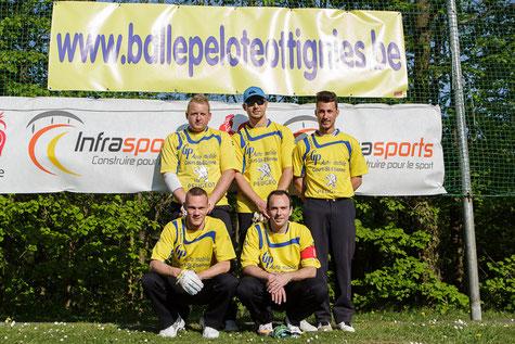 L'équipe de Promotion 2014 championne de l'entité Sambre-Dyle