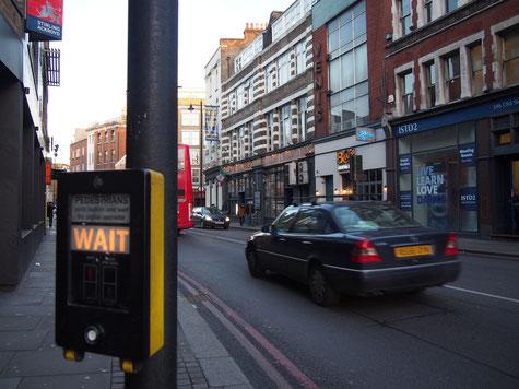 ロンドンの信号