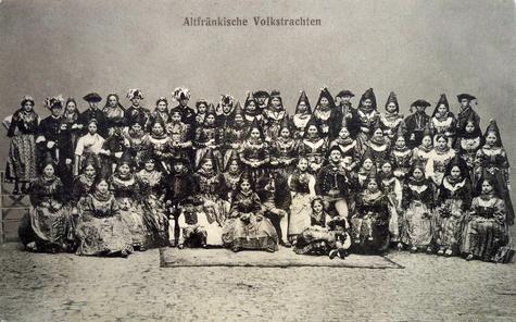 Vom Schweinfurter Volksfest 1928