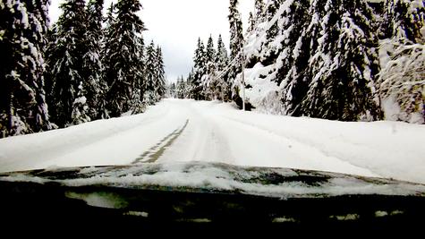 Auf dem Weg nach Rauland - Winterlandschaft (AF)
