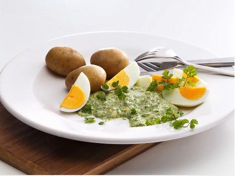 Frankfurter grüne Sauce Ei Kartoffeln