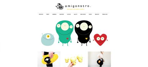 Exemplo de uma loja virtual criada com Jimdo