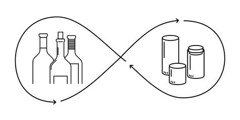 Upcycling-Acht: Aus Weinflaschen werden Gläser