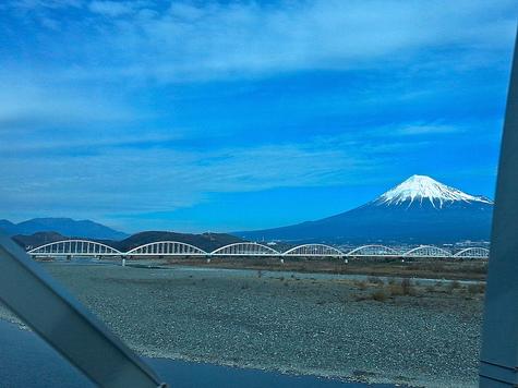 富士川の富士山