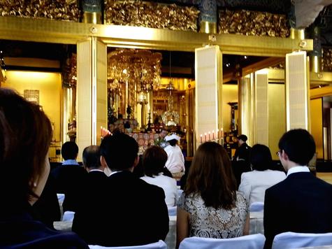 築地本願寺の仏前結婚式