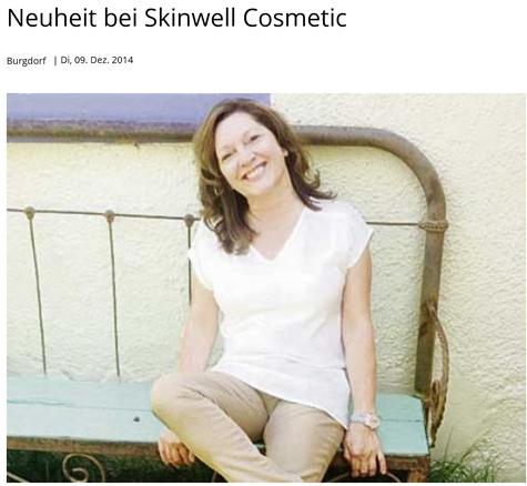 Kosmetikinstitut Skinwell Cosmetic Silvia von Däniken