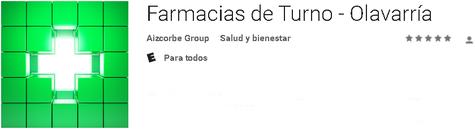Consulta las farmacias de turno que hay en tu ciudad, sin vueltas y al instante (por el momento solo disponible para Olavarría)