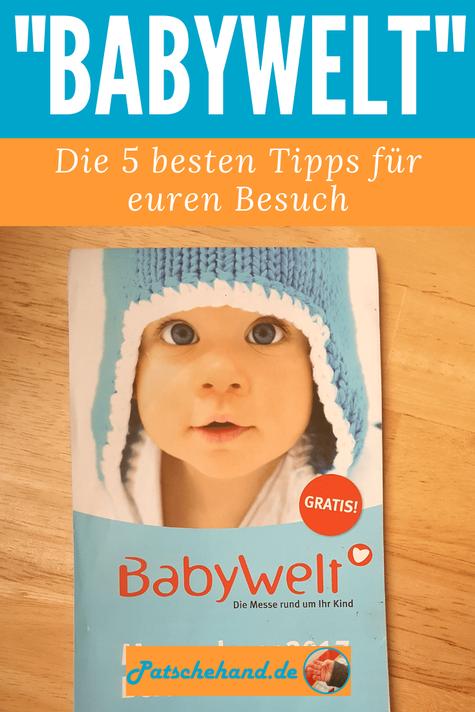 """Pinterest-Grafik für """"Babywelt""""-Beitrag auf Mama-Blog patschehand.de"""