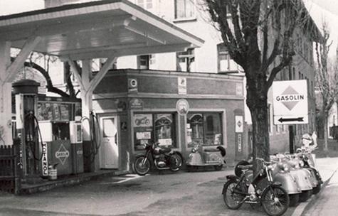 Gasolin Tankstelle am Autohaus Strasser in Rosenheim