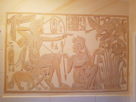Luxor, Tal der Könige: Grab von Ramses III, Quelle: Wikimedia Commons Fotograf: Peter J. Bubenik (1995)