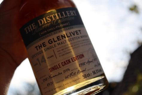 The Glenlivet Distillery Reserve Collection Bottle
