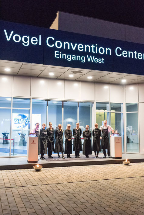 Catering zum Benefizkonert im Vogel Convention Center