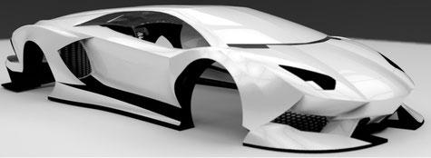 carrosserie carbone