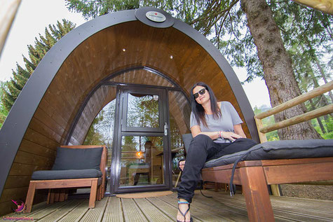 Glamping am Natterer See in Tirol