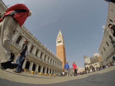 Markusplatz Venedig in Italien