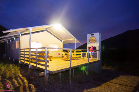 Africamps in Robertson - Glamping in Südafrika