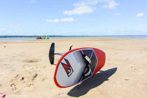 Levitaz Element Kitefoil in Frankreich