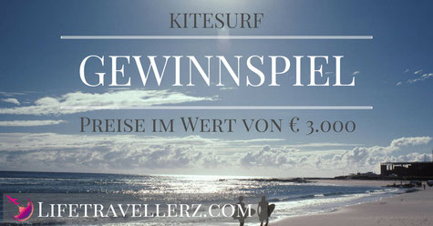 Lifetravellerz Kitesurf Gewinnspiel, goodboards, Flysurfer, WestCoastKiters, Kitesurfing.at, North Kiteboarding