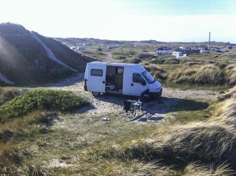 travelonboards.de, VW Bus, Camping, Dänemark