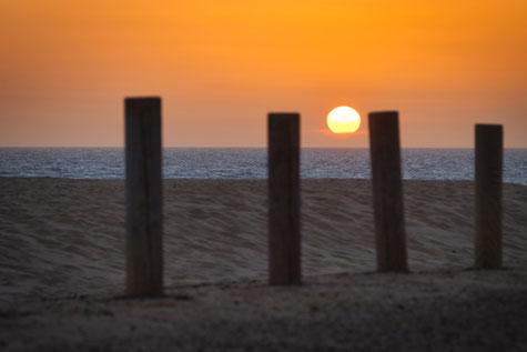 Sonnenaufgang in Corraljeo