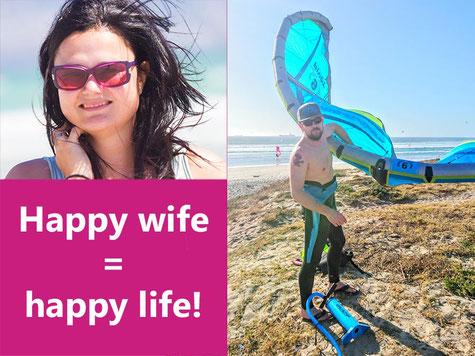 Urlaubsentscheidung zum Kitesurfen oder Strandurlaub by Lifetravellerz