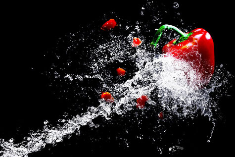 Paprika - (Bild von Christine Sponchia auf Pixabay)