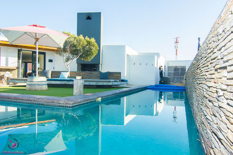 Langebaan Südafrika Windtown Kitesurfer Hotel