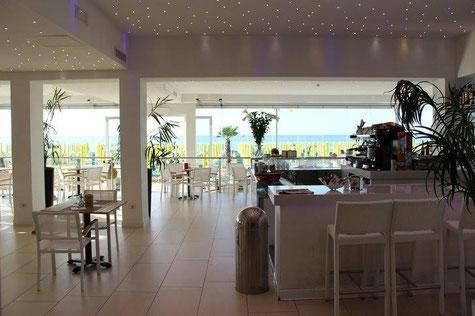 Lobby im Hotel Nettuno Jesolo, Italien