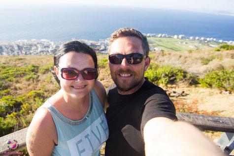 Lifetravellerz am Signal Hill in Kapstadt Südafrika