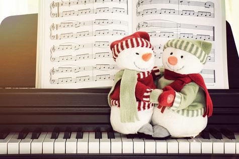 Kostenlose Weihnachtsnoten, Klavier