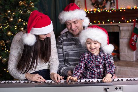 Kostenlose Weihnachtsnoten, Klavier, Gesang, PDF