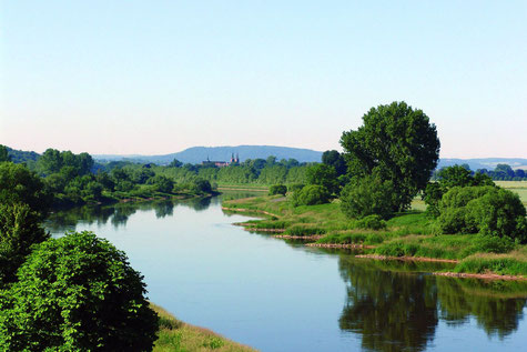 Weserbogen bei Höxter-Corvey © Teutoburger Wald Tourismus, C. Thomalla
