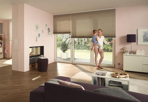 Duette Plisseess, Erfal-Wabenplissee, Sonnenschutz für Fenster, Sonnenschutz in Langenselbold
