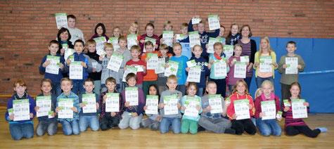40 Viertklässler der GG Schenefeld