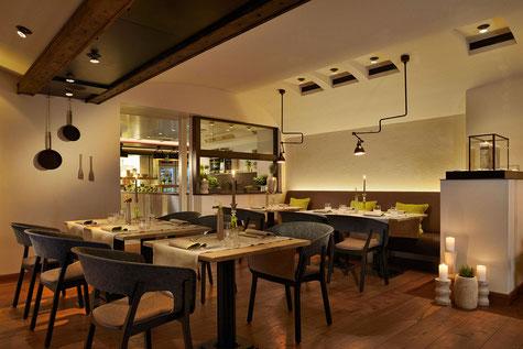 Innenansicht des Restaurants Philipp Soldan