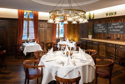 Schönes Ambiente im Restaurant des Hotel am Goethepark