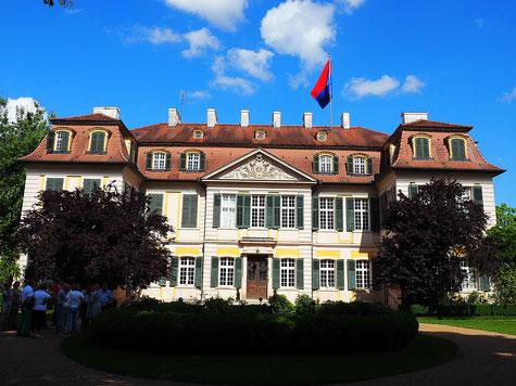 Haupthaus des Schloss Dennenlohe