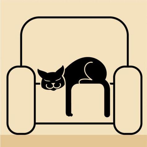 Если кошка лезет на кресло, едва ты ушел