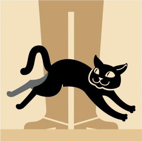 Если кошка шмыгает мимо тебя, втянув голову в плечи