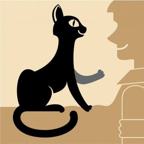 Если кошка топчет твой живот передними лапами