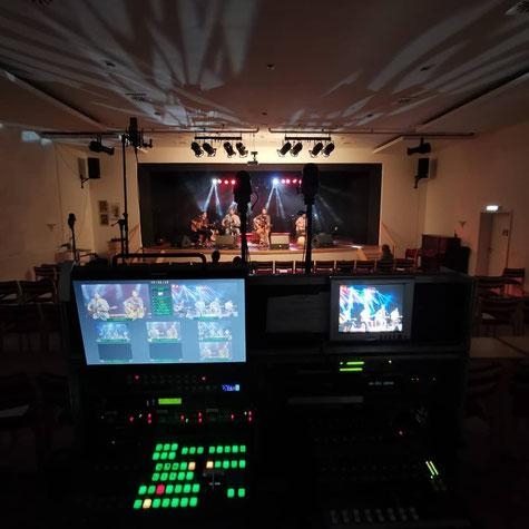 Streaming von Konzerten Gottesdiensten und Veranstaltungen