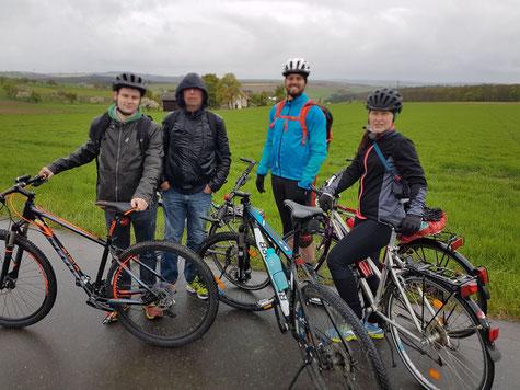 1. Mai Fahrradtour