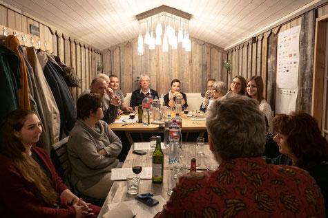 Gemütliche HV im Eventhaus (Bild: Sascha Erni)