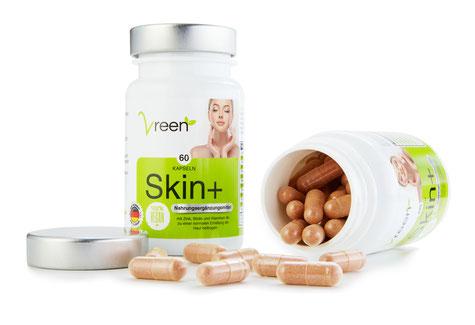 Vreen Skin+ reine Haut Haut Vitamine bei Pickel Akne Mitesser