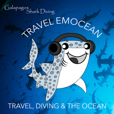Galapagos Shark Diving - Podcast Travel EmOcean Icon