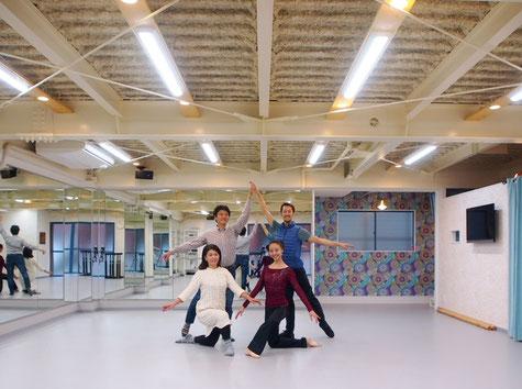 ダンススタジオ施工