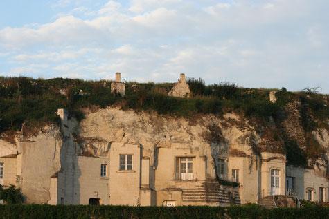 Site troglodytique de la La Grande Vignole (Anjou) - (Photo L. Stevens)