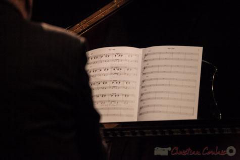 """Partition de """"Balade à Tromsø"""", composition de Mickaël Chevalier, jouée au pinao par Fabrice Fontès. 02/12/2016. Reproduction interdite - Tous droits réservés © Christian Coulais"""